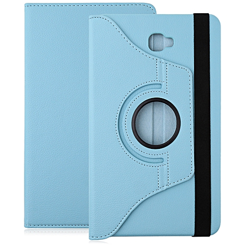 Case Stand  PU Leather For Samsung Galaxy Tab A 10.1 T580 / T585 - Azure
