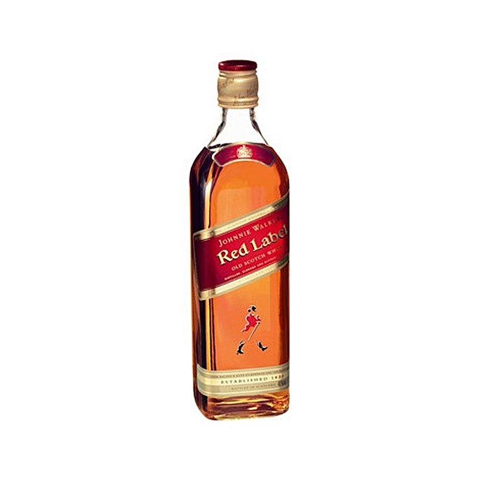 Johnnie Walker Red Label Classic Blended Scotch Whisky, 40