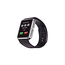 Watch HD MTK6260A TFT Smart Wrist Strap Pedometer Monitor Self-Timer For Android IOS - Silver