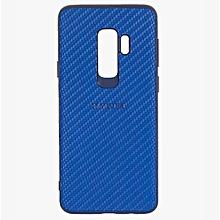Galaxy S9 Plus Silicon Weave Pattern Case  -  Blue