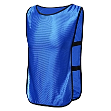 Adult Sports Training Bibs Vests Top Basketball Netball Rygby Soccer Men Cloth