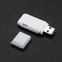 2 IN 1 USB 2.0 OTG Metal Flash Memory Stick Storage Thumb U Disk 16GB -White