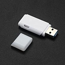 2 IN 1 USB 2.0 OTG Metal Flash Memory Stick Storage Thumb U Disk 16GB -White