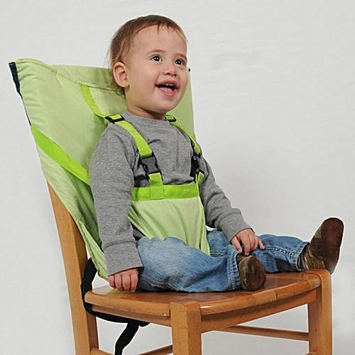 d335f618912c UNIVERSAL Portable Baby Kids Dining Feeding Home High Chair Seat Harness  Strap Chair Belt