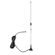 Car Mounted SMA-F Dual Band Mobile Radio Antenna for NAGOYA UT-106UV Black