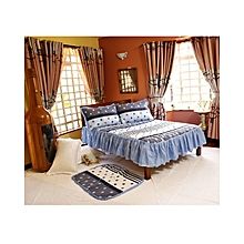 4Pc - Quilted Bedcover Set - 5 x 6 - Multicoloured