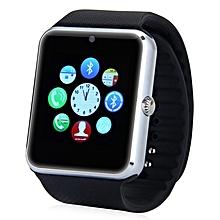 GT08 - Smart Watch Phone Camera MTK6261 Sleep Monitor 380mAh - Black/Silver