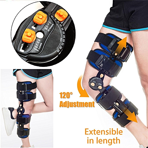 09c7061d57 KIFIT Professional T-Scope ROM Post Op Knee Brace Adjustable Hinged Leg  Universal Size Braces & Supports