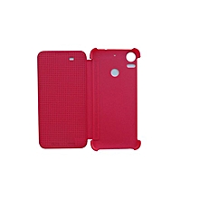 HTC Dot View Case for HTC Desire 10 pro - Pink