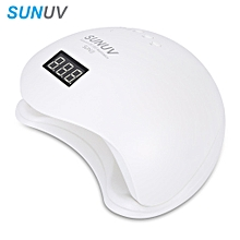 SUNUV 48W Manicure Tool LED / UV Phototherapy Nail Gel Lamp-WHITE