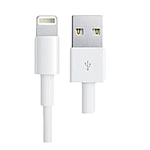 IPhone X/7/8/5/6 USB charger cable - White