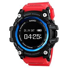 SKMEI 1188 Smart Watch Heart Rate Remind Pedometer Calorie Sport Fashion Bluetooth Watch