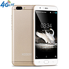 "5.5"" 4G D18 16GB Android 6.0 13MP un-locked Dual SIM Smartphone Cell Phone GPS-gold"