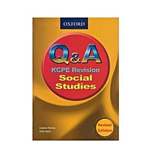 Q and A KCPE Revision Social Studies