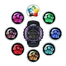 Boy Girl Alarm Date Digital Multifunction Sport LED Light Wrist Watch PP