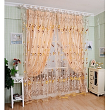 Tulip curtains finished products foreign trade gauze cut off the bedroom kindergarten dedicated