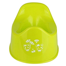 Plastic Baby Children Kids Toddler Training Potty Toilet Lavatory Seat Chair Light Green