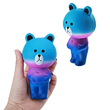 Star Bear Squishy 12cm Slow Rising Soft Animal Collection Gift Decor Toy-