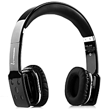 Fashion V8100 Foldable Bluetooth Hands Free Headset(WHITE)