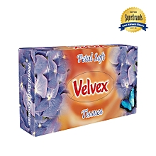 Premium White Petal Soft Facial Tissue - 50 Sheets