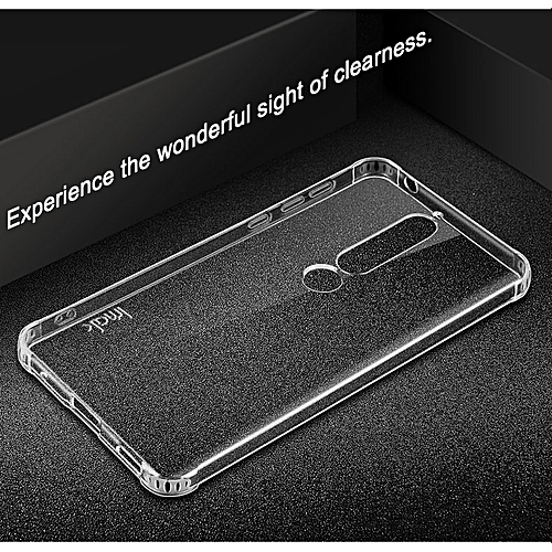 For Nokia 6 2018 TPU Case Steelth Airbag Shockproof Back Cover For Nokia 6 2018 Soft Silicone 5.5inch + Screen Protector