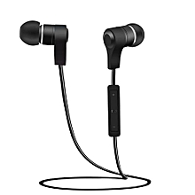 Olivaren Wireless Bluetooth Headset Sport Stereo Headphone Earphone For IPhone  -Black