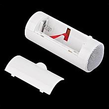 Mini White Portable 3.5mm Music Player Stereo Speaker For Cell Phone Mobile