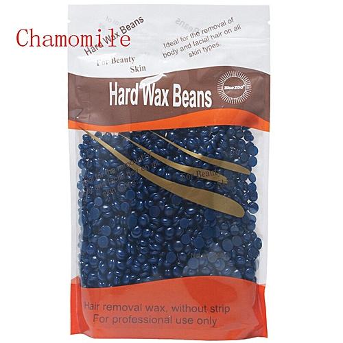 Brazilian Chamomile Hard Wax Beans Hair Removal 300g Professional Body  Bikini Depilatory Wax for All Skin cera depilatoria(Blue)