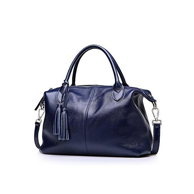 c51a9e436f44 ... PASTE Women Handbag Leather Tassel Tote Brand Design Classic Ladies  High Capacity Crossbody Bag Fashion Vintage ...