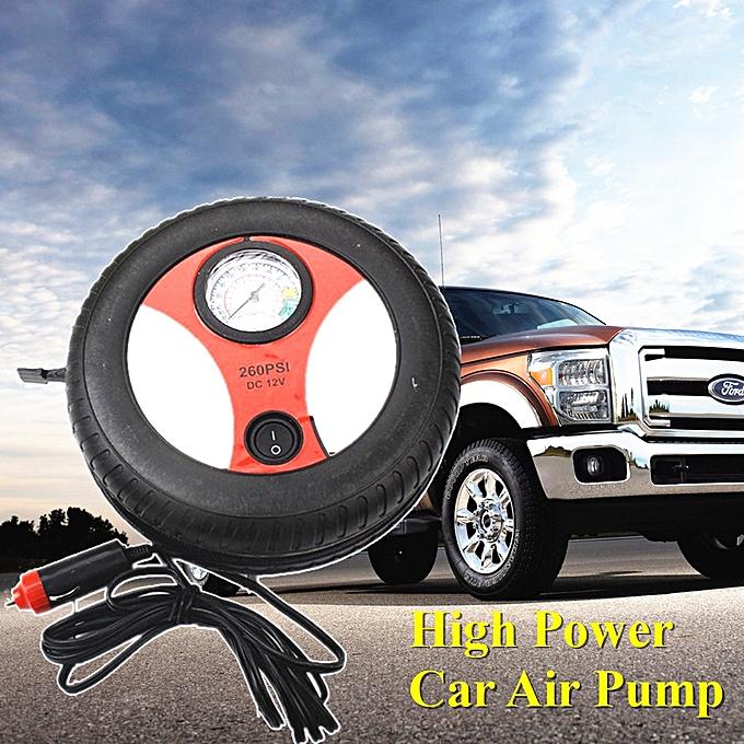 Generic Portable Mini 12v Tire Inflator Car Air Compressor Car Auto