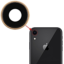 Back Camera Bezel with Lens Cover for iPhone XR(Gold)