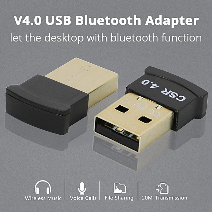 Wireless USB Bluetooth 4 0 Adapter Bluetooth Dongle Audio Receiver  Bluetooth Transmitter Receiver Adapter For Win 8 10 Computer