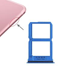 2 x SIM Card Tray for Vivo X9s(Blue)