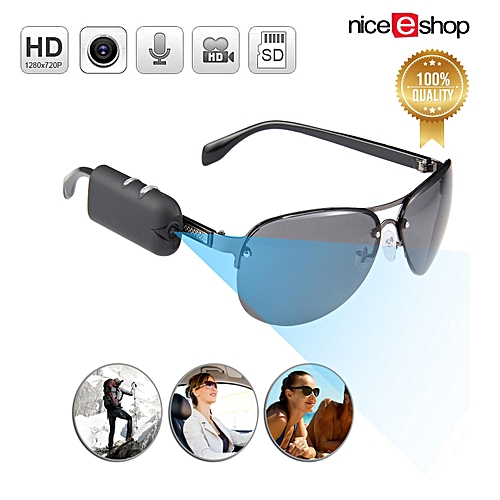 1a11234ea7 Generic niceEshop HD Outdoor Sport Sunglasses Camera With DVR Mini Hidden  Spy Camera Security Video Recorder WWD