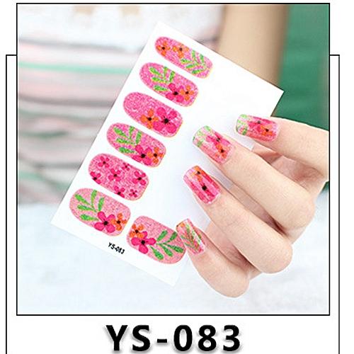 Buy Zlime 12pcs New Diy Nail Wraps Stickers Patch Foils Art Decals