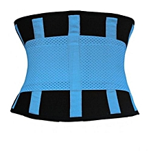 Women Fitness Waist Training Belt (Blue)