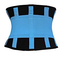Women Fitness Waist Training Belt (Blue)