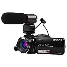 "ORDRO HDV-Z82 Video Camera 3.0"" TFT LCD Touch Screen  Videocameras Digital Zoom 10X Optical HD Camcorder Camera 24MP HDMI O KANWORLD"