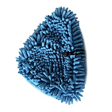 Minifiber Pads Washable Coral Cloth For H2O H20, VAX S2 & Bionaire Steam Mop Blue