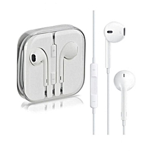 Handsfree earpods for iPhone & iPad & ipod - White