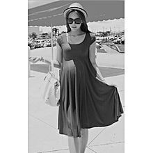 Maternity dress – Grey