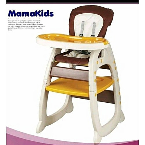 Mama Kids Convertible Baby High Chair Feeding Chair