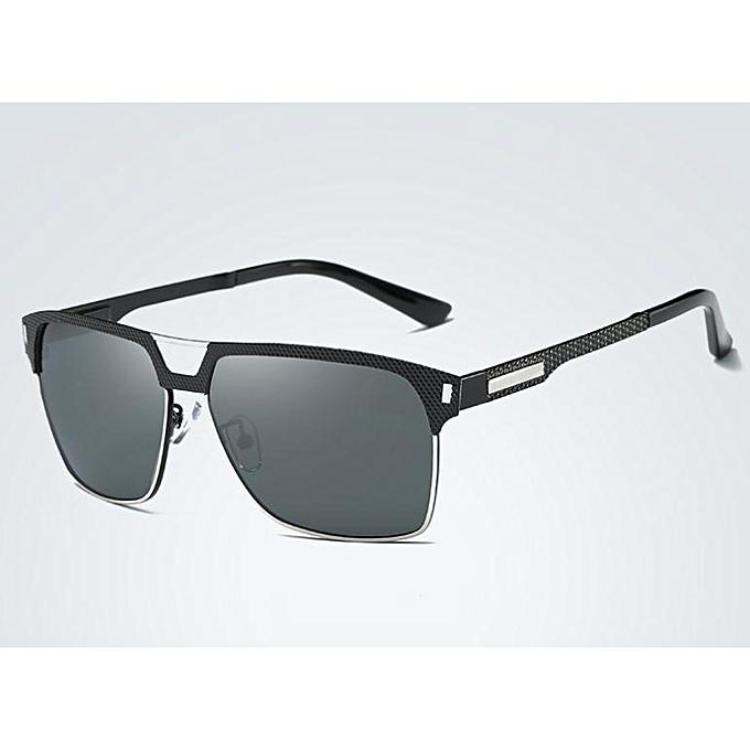 39651557cce New men s polarized sunglasses fishing mirror driving glasses-black