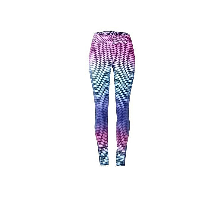 ... The Explosion Women S Colorful Printed Compression Running Tights Yoga Workout  Pants Sports Gym Slim Fitness Trousers ... 53624fa3d70b