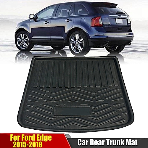Car Rear Cargo Boot Trunk Mat Tray Pad Protector Carpet For Ford Edge