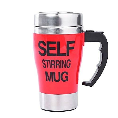 400ml Milk Lazy Self Stirring Electric Coffee Mug Automatic Cup Mixing wO8n0PkX