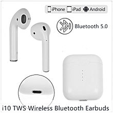 Mini Wireless Bluetooth Earbuds Earphone Stereo Headset For iOS Android Samsung LG iPad