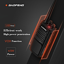 BAOFENG BF-888S Plus Walkie Talkie Two Way Radio Flagship Version 16CH Mini Portable Handheld Interphone Pofung Transceiver PTT VOX Function 3800mAh Long Standby Time