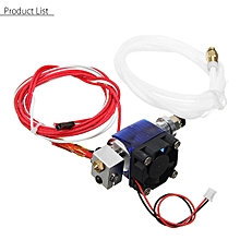 Metal J-head V6 E3D Hotend 1.75mm/0.4mm Nozzle Bowden Extruder Reprap 3D Printer
