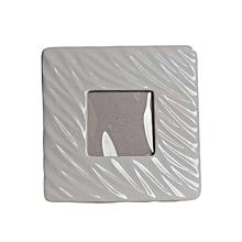 Ceramic Photo Frame -  Small - Grey